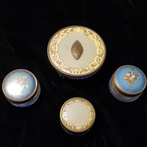Vintage beautiful  Trinket Boxs